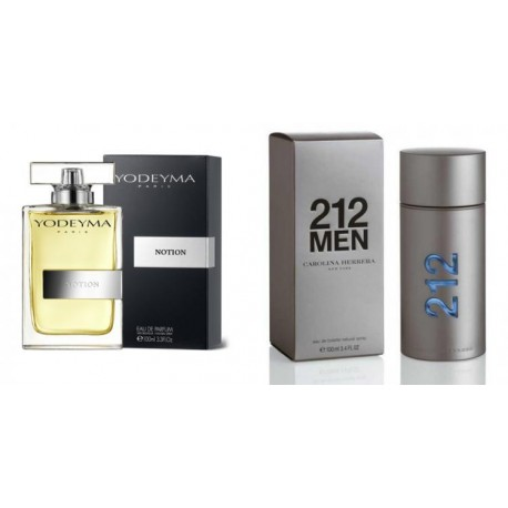 YODEYMA NOTION - 212 MEN (Carolina Herrera)