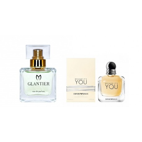 Perfumy Glantier 565 - Because It's You (Giorgio Armani)