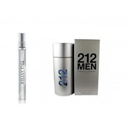 Perfumetka Glantier 736 - 212 Men (Carolina Herrera)