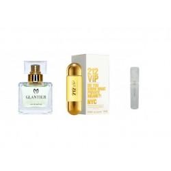 Perfumy Glantier 489 -212 VIP (Carolina Herrera) Mini próbka 2ml