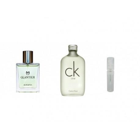 Perfumy Glantier 708 - CK One (Calvin Klein) Mini próbka 2ml